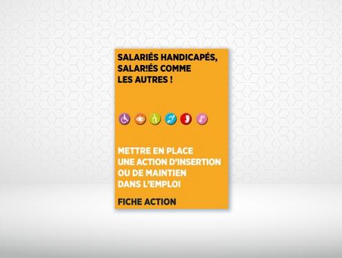 [FICHE ACTION] Mettre en place une action d'insertion ou de maintien dans l'emploi de salariés handicapés